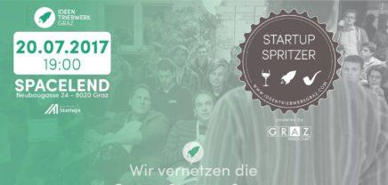 Startup Spritzer #31: Der Grazer Startup-Stammtisch