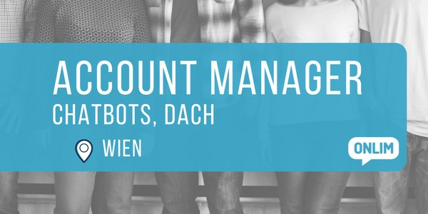 Account Manager – Chatbots, DACH (m/w)