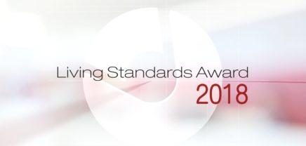 """Living Standards Award: Preis für """"vorbildliche Nutzung von Standards"""""""