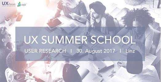 UX Summer School 2017