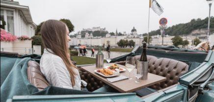 Luxusmenü im Fiaker: Wiener Riding Dinner expandiert nach Salzburg