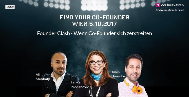 """Podium: """"Founder Clash"""" – Wenn Co-Founder sich zerstreiten"""