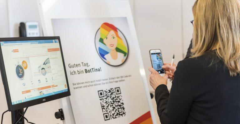 BotTina: Service-Chatbot von Wien Energie für Kundenanfragen