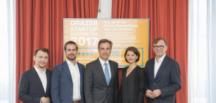 Startup Barometer 2017: Graz als Gründungsstandort im Aufschwung