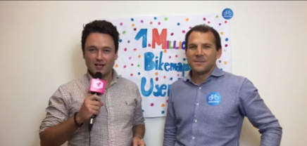 Christof Hinterplattner and Fabio Basile in a live talk about the recent Bikemap successes