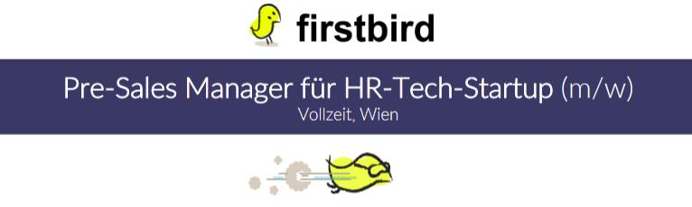 Pre-Sales Manager für HR-Tech-Startup (m/w)
