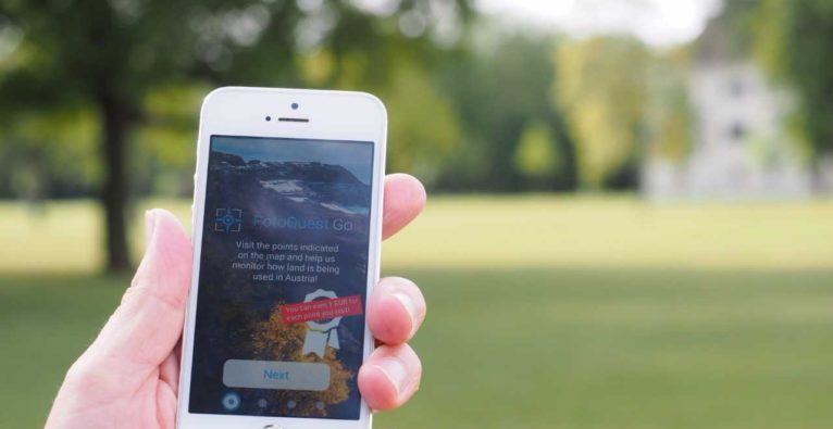 Citizen Science: Mit FotoQuest GO für den Landschaftsschutz fotografieren