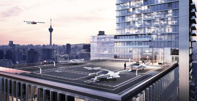 Lilium: 90 Mio US-Dollar für Münchner E-Lufttaxi-Startup