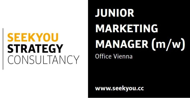 Junior Marketing Manager (m/w)