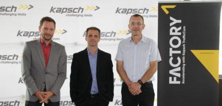 Kapsch Factory1: Wenn Autos andere Fahrzeuge vor Gefahren warnen