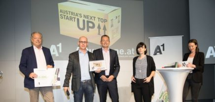 "Insider Navigation ist ""Austria's Next Top Startup"""