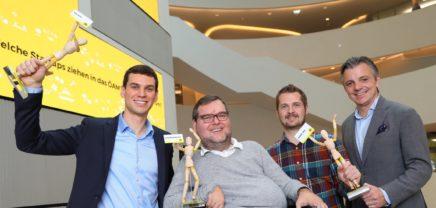 BikerSOS, roomchooser und Projekt Volare gewinnen bei der ÖAMTC Startup Challenge