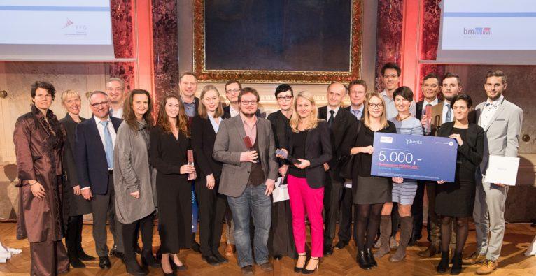 Die Sieger des Österreichischen Gründerpreis Phönix 2017