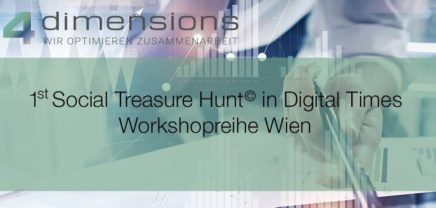 Workshopreihe | 1st Social Treasure Hunt© in Digital Times