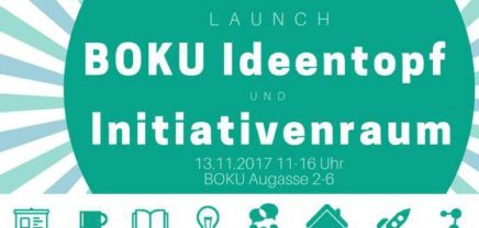 Launch: BOKU Ideentopf & Initiativenraum