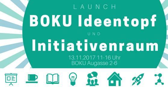 Launch: BOKU Ideentopf & Initiativenraum