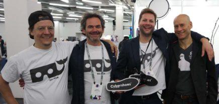 Cybershoes: Realer Spaziergang im virtuellen Raum