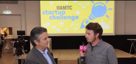 Preisverleihung der ÖAMTCStartup Challenge
