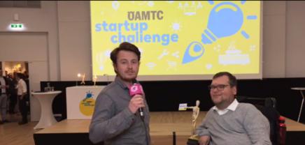 Die drei Sieger der ÖAMTCStartup Challenge
