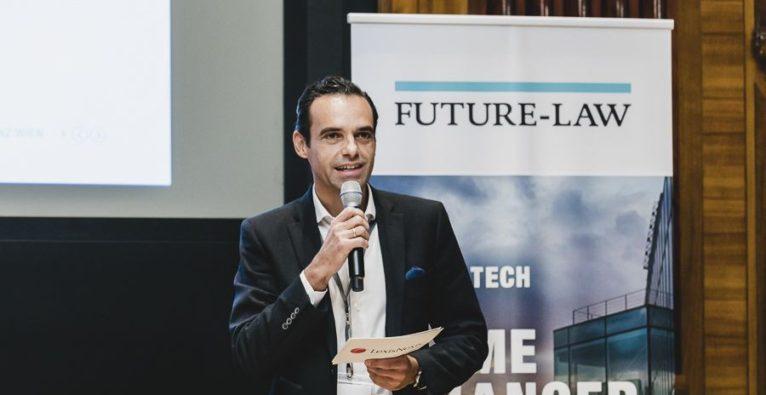 Alberto Sanz von LexisNexis bei der LegalTech-Konferenz in Wien - © Leadersnet.at, S. Menegaldo