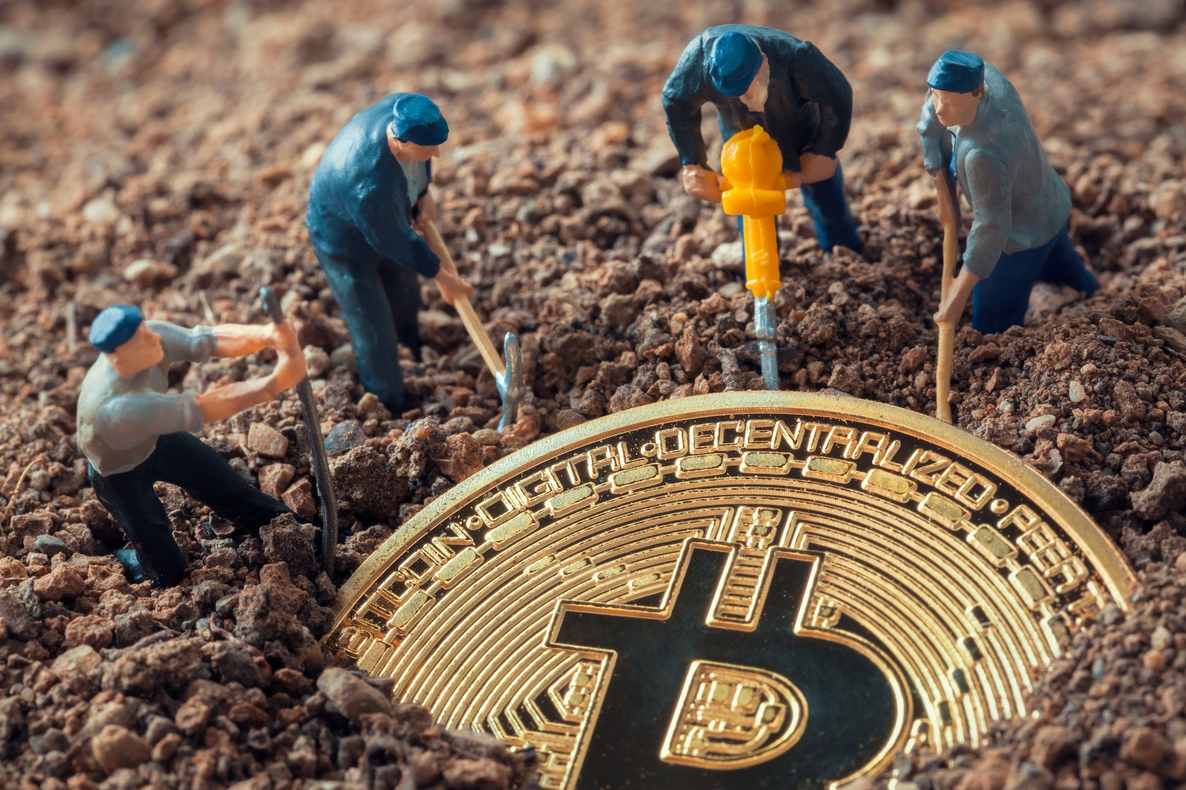 Wie viele Daten nehmen Mining Crypto?