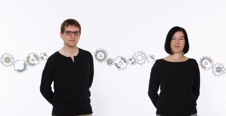 Die foreverloops-Founder Ulrich und Marlene Brandstätter - Vertrieb über Steam