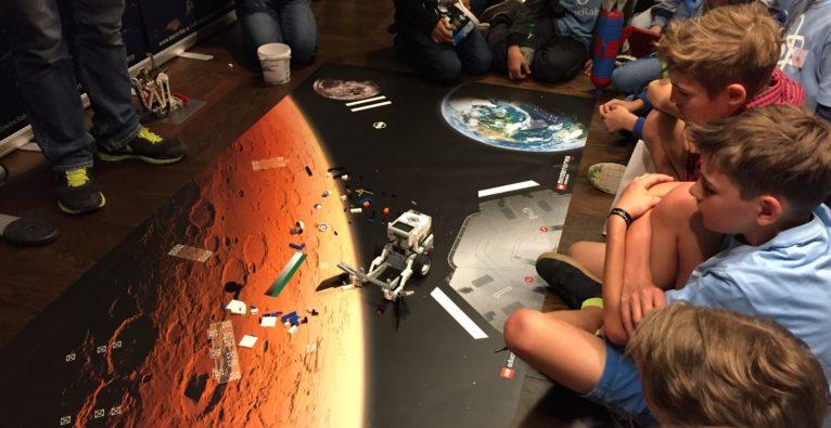 Auch Kinder können sich schon an der SpaceTech-Entwicklung beteiligen.