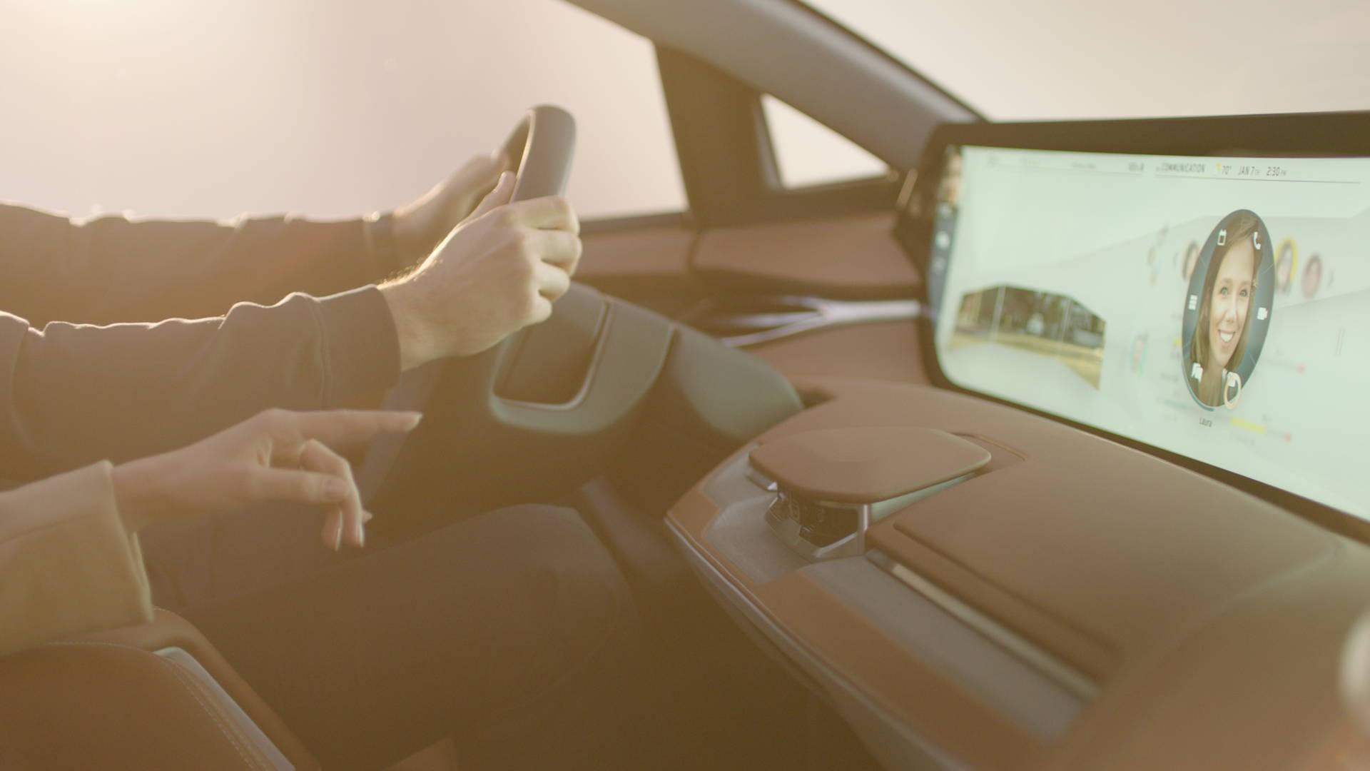Byton: So sieht das Auto von innen aus.