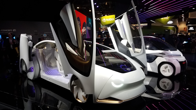 Toyota Concept-i Serie CES Las Vegas