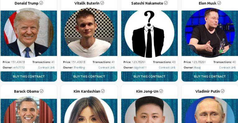 Crypto Celebrities