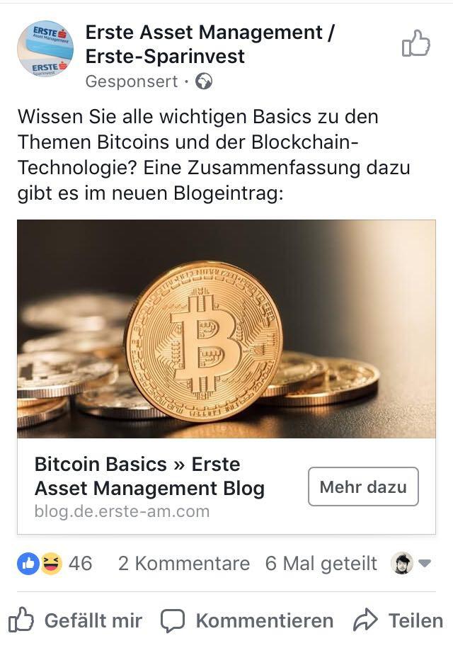 Erste Asset Management Bitcoin