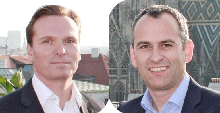 Die mPAY24-Geschäftsführer Bernd Egger und Michael Müller