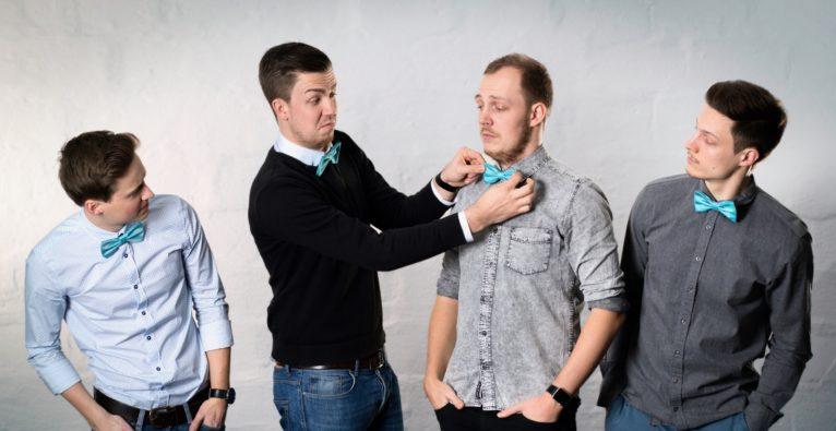 Butleroy: Die Co-Founder (vlnr.) Simon Kapl, Gregor Pichler, Philipp Baldauf, Philipp Jahoda. Ehemals MyAlfred