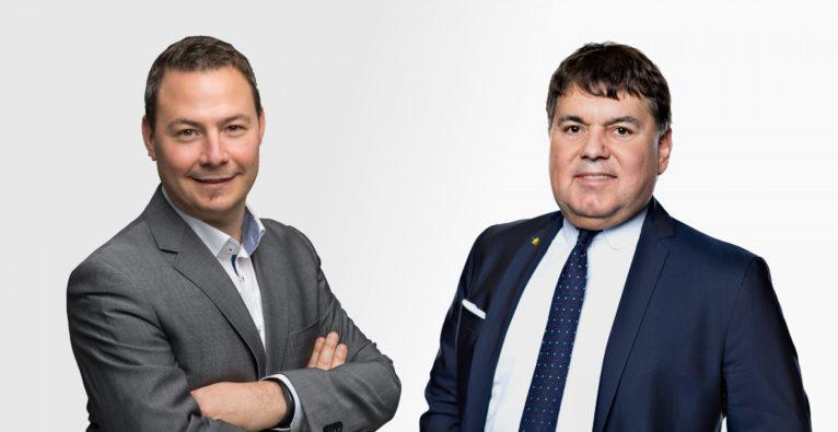 Andreas Draxler (SVEA) und Heinrich Prokop (Clever Clover)