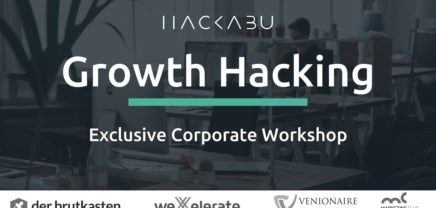 Corporate Growth Hacking Workshop by Hackabu