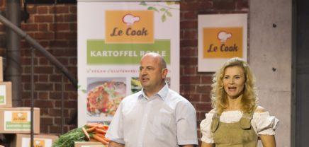 2 Minuten 2 Millionen: 750.000 Euro für Kartoffelrollen und Kaffee
