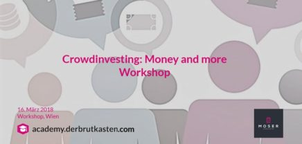 Crowdinvesting: Money and more
