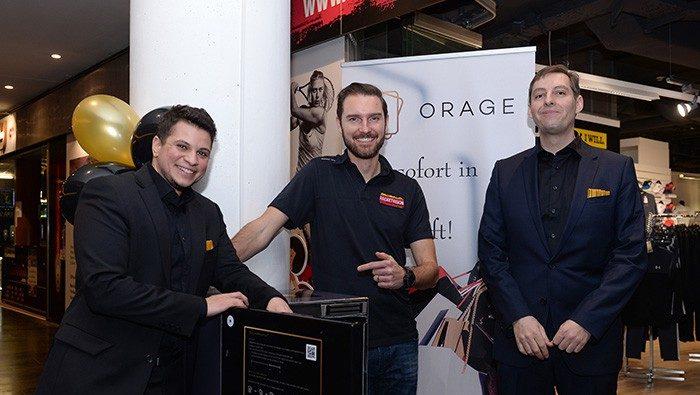Intelligentes Schließfach ORAGE4U liefert nach Hause