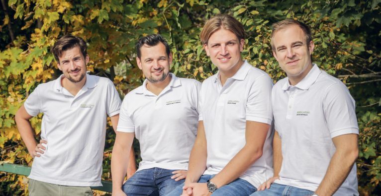 Paul Potato - Das Team Lukas Bürger, Armin Buttazoni, Fabian Pirker, David Dietrich