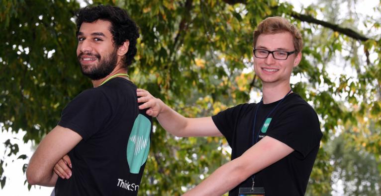 ThinkSono: Die Co-Founder Fouad Al-Noor und Sven Mischkewitz