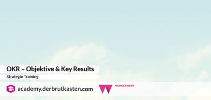 OKR – Objektive & Key Results Strategie Training