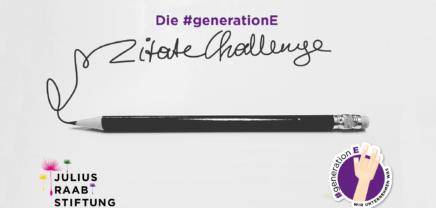 #Generation-E Zitate-Challenge: Zitate für mehr Entrepreneur-Spirit