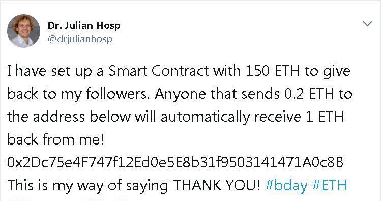 Julian Hosp-Fake-Twitter-Account