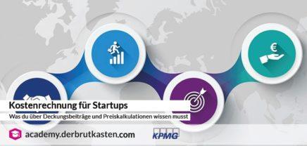 Kostenrechnung für Startups – Was du über Deckungsbeiträge und Preiskalkulationen wissen musst