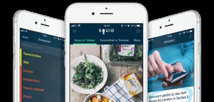 """SQUID: App will """"die"""" Newsquelle für Millennials werden"""