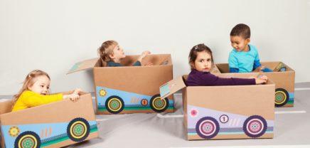 Badala: Crowdfunding für Spielzeug aus alten Schachteln