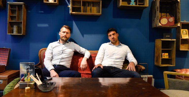 Hackabu: Die Co-Founder Alexander Meyer und Tamir Israely