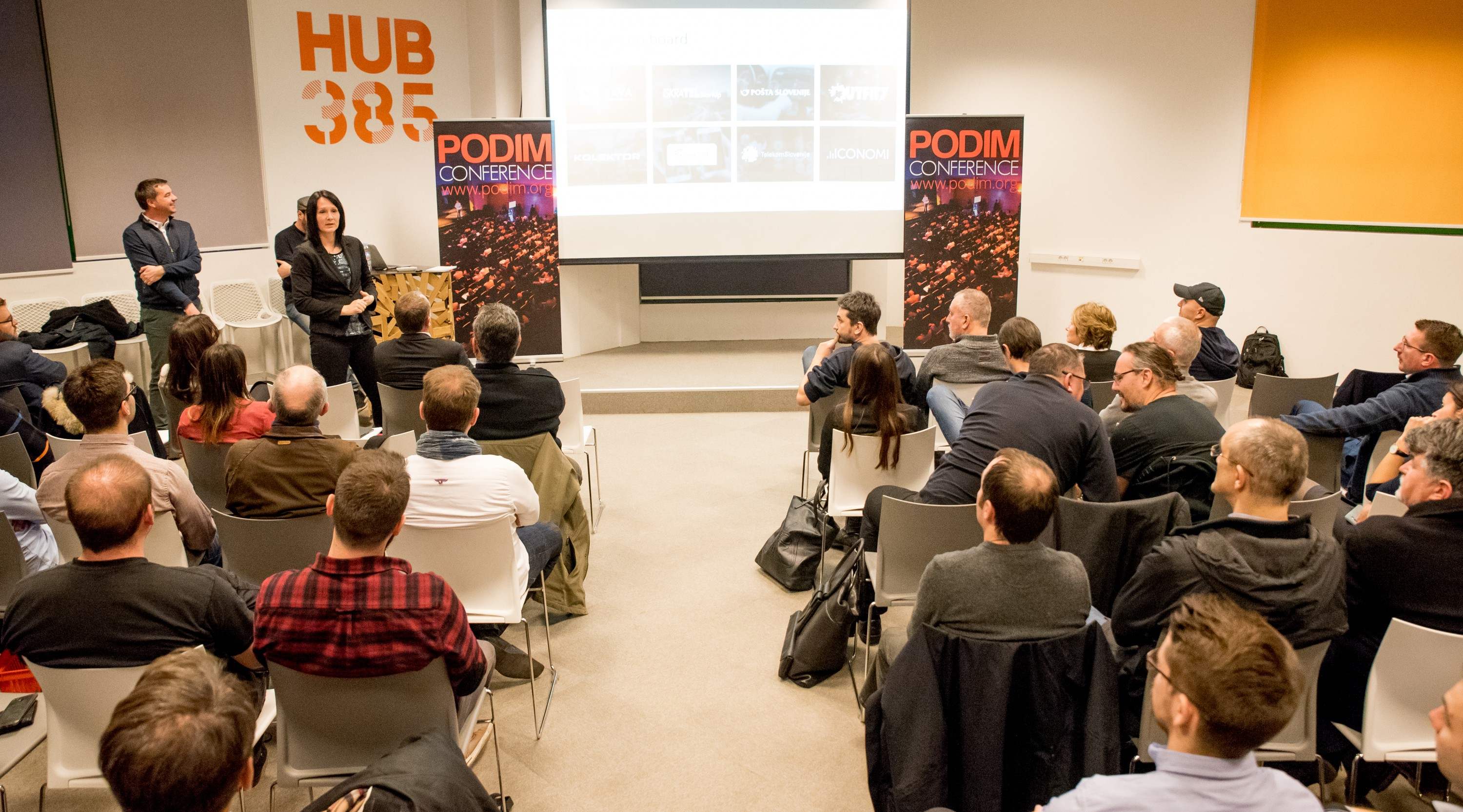 PODIM: Roadshow-Pitch in Zagreb