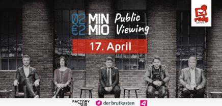 2Min2Mio Public Viewing mit Heinrich Prokop in Linz