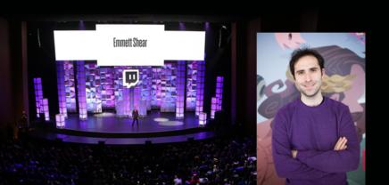 Twitch.tv-Gründer Emmett Shear beim Pioneers ´18